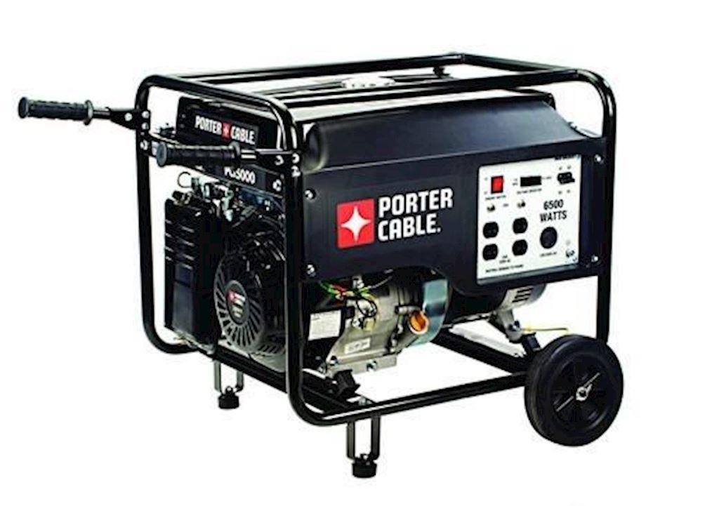 GENERADOR  GASOLINA 6500W 13HP P&C(PCI5000) PORTER CABLE